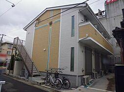 神奈川県小田原市南鴨宮3丁目の賃貸アパートの外観