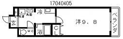 プロシード長居公園[6階]の間取り