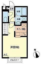 RupiahII[1階]の間取り