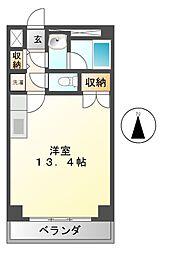 アロンノーブル2[2階]の間取り
