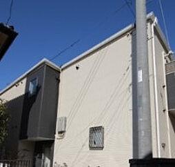 埼玉県川越市上戸新町の賃貸アパートの外観