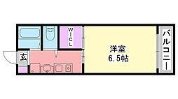 flat福井B棟[301号室]の間取り