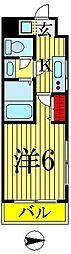アリーズタウン錦糸町[804号室]の間取り