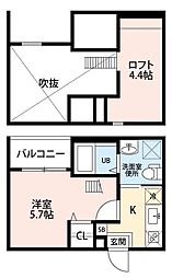 レガーロ 中小田井(レガーロナカオタイ)[2階]の間取り