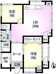 [一戸建] 東京都八王子市東浅川町 の賃貸【/】の間取り