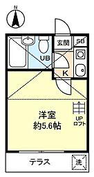 ノーリーズン八千代台北[1階]の間取り