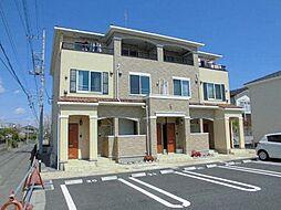 茨城県龍ケ崎市若柴町の賃貸アパートの外観
