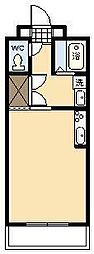 ベルハイムエルステ[603号室]の間取り