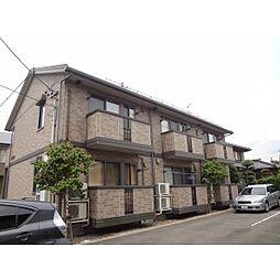 長野県長野市篠ノ井会の賃貸アパートの外観