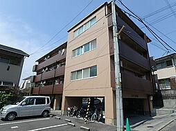 愛媛県松山市桑原7丁目の賃貸マンションの外観