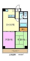 内田ビル[3階]の間取り