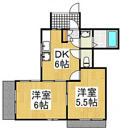 アーバンハイム[1階]の間取り