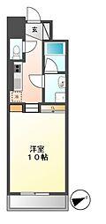 プライムアーバン千種(旧ロイジェント葵)[7階]の間取り