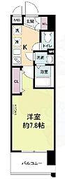 JR東海道・山陽本線 JR総持寺駅 徒歩5分の賃貸マンション 1階1Kの間取り