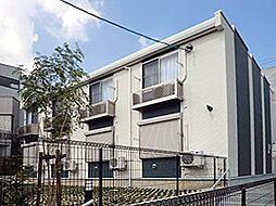 愛知県名古屋市瑞穂区彌富町字月見ケ岡の賃貸アパートの外観