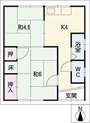 [一戸建] 愛知県小牧市藤島町居屋敷 の賃貸【/】の間取り