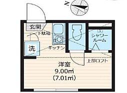 Nano北新宿[2階]の間取り