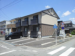 愛知県安城市美園町2丁目の賃貸アパートの外観