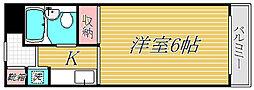 神奈川県川崎市高津区向ケ丘の賃貸マンションの間取り