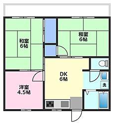 MINT HOUSE B棟[2階]の間取り