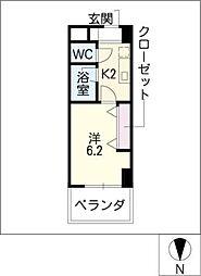 アレンダール大須[11階]の間取り