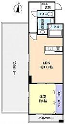 KANENARI和光[9階]の間取り