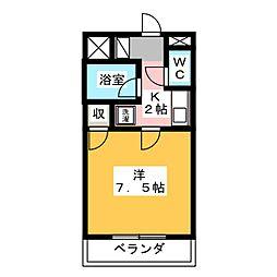 長泉コート[4階]の間取り