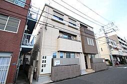 東京都大田区新蒲田1丁目の賃貸アパートの外観