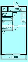 さぎぬま山荘B棟[1階]の間取り