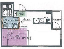 プライムローズ[3階]の間取り