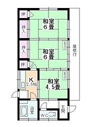[一戸建] 埼玉県川越市大字笠幡 の賃貸【/】の間取り