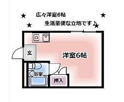 プレアール伏見桃山II[506号室]の間取り