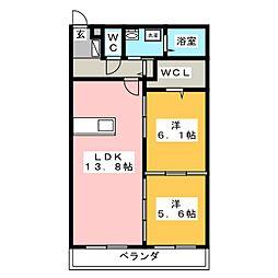 明智駅 6.4万円