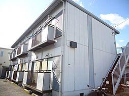 広島県福山市三吉町2丁目の賃貸アパートの外観