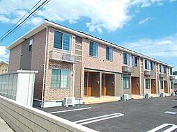 長野県上田市長瀬の賃貸アパートの外観