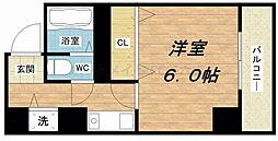ODESSA南船場[6階]の間取り