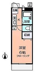 ハイツ井口2[1階]の間取り