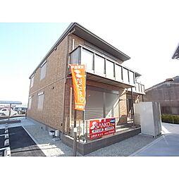 奈良県香芝市高の賃貸アパートの外観