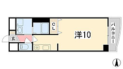 兵庫県姫路市田寺8丁目の賃貸マンションの間取り