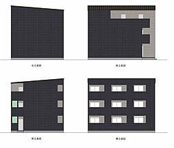 愛知県名古屋市中村区畑江通4の賃貸アパートの外観