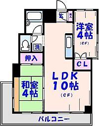 エモン壱番館[2階]の間取り
