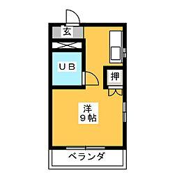 ラミエール11[1階]の間取り