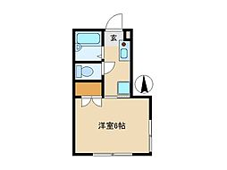 東京都西東京市ひばりが丘北4丁目の賃貸マンションの間取り