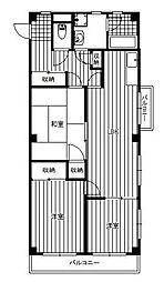 メゾン・ラ・メール[2階]の間取り