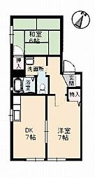 シャーメゾン・M[1階]の間取り