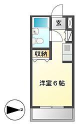 メゾン・ド・ティセ[1階]の間取り