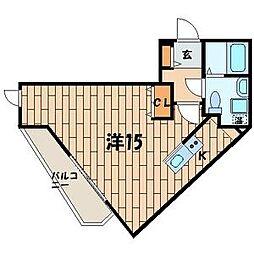 ワコルダー[3階]の間取り