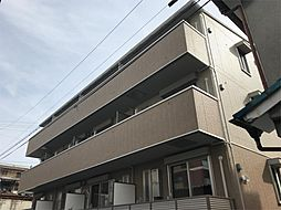 京都府京都市山科区安朱北屋敷町の賃貸アパートの外観