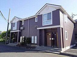 滋賀県近江八幡市鷹飼町北2丁目の賃貸アパートの外観