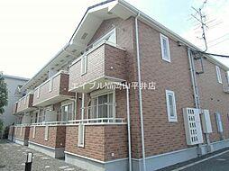 岡山県岡山市中区浜の賃貸アパートの外観